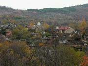 Village Stefanovo Autumn view