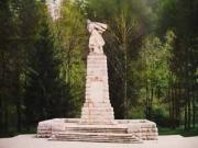 Village Brusen Soldier Monument